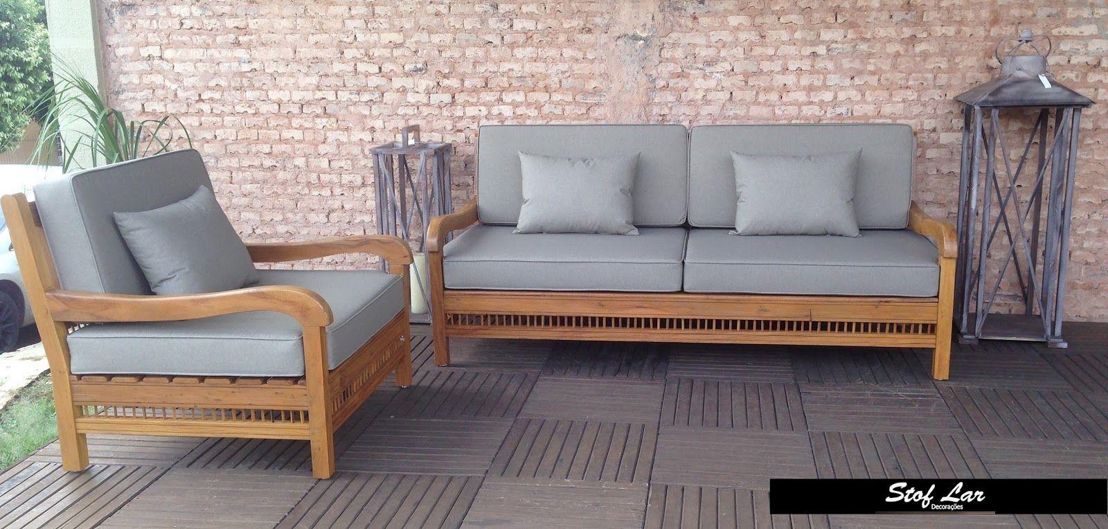 Stof Lar Decoracoes Moveis Em Madeira De Demolicao Banco Sofa