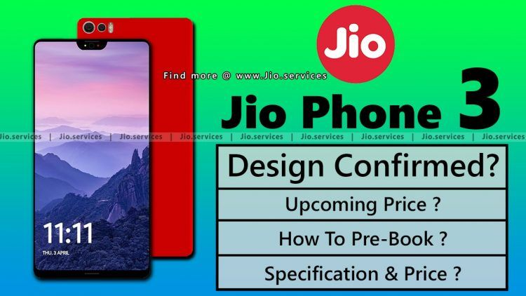Jio Phone 3 Booking Online [Dec 2018] Launch Price