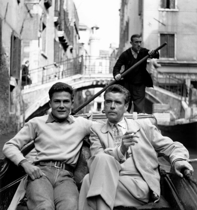 Magnum photos herbert list italy venice 1951 german photographers max scheler left and herbert list