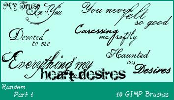 Download GIMP Random Text Part 1 by Illyera (With images)   Gimp ...
