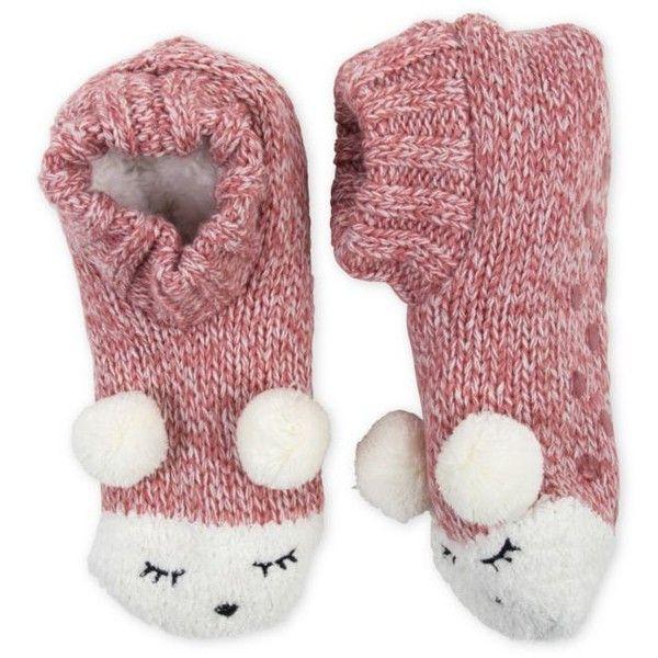 High Point Design Critter Knitters Slipper Socks- Single Pair 2OzTgivq