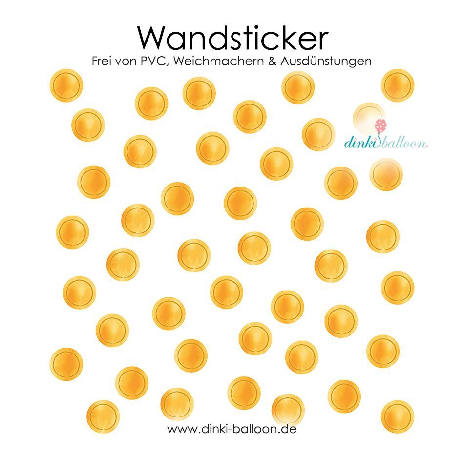 Dinki Balloon Aquarell Wandsticker Fur Kinder Punkte Senfgelb 44 Teilig Bei Fantasyroom Online Kaufen Wandsticker Wandsticker Babyzimmer Wandfarbe Kinderzimmer