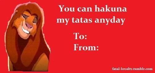 Found My Valentine Card!
