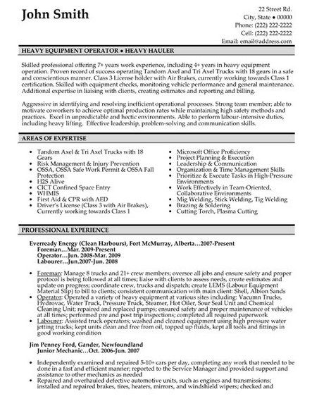 Machine Operator Cover Letter -    getresumetemplateinfo 3348 - general maintenance technician resume