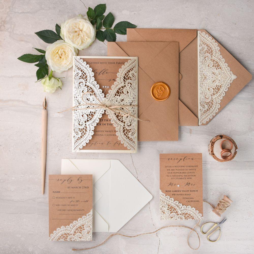 Wedding Invitations Handmade Stationery 4lovepolkadots Wedding