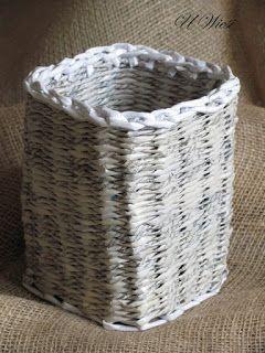 Kosze Koszyki Osłonki Na Doniczki Paper Basket Paper