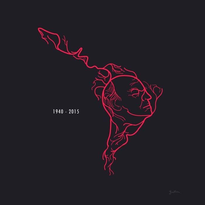 Poster En Homenaje Postumo A Eduardo Galeano Autor De El Libro Las Venas Abiertas De America Latina Latin American Art Latina Tattoo Film Poster Design