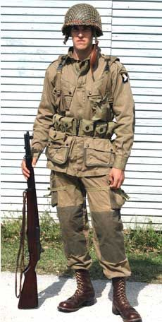 A 'Screaming Eagle' Paratrooper in the 'Normandy' re ...
