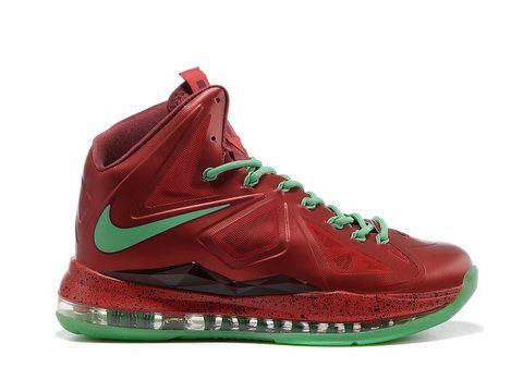 Lebron Christmas Edition.Nike Lebron 10 Christmas Edition Style Code The Shoe