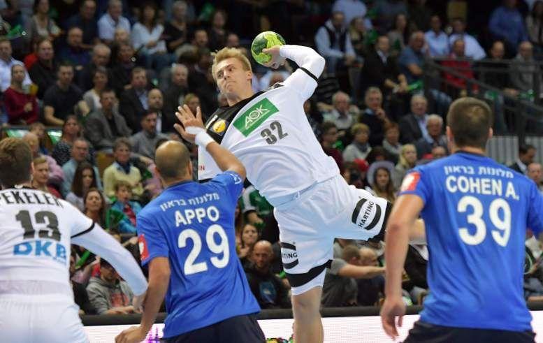 Handball Deutschland Israel