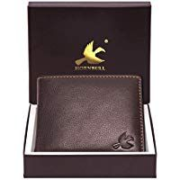 HORNBULL Maddison Men's Brown Genuine Leather Wallet #leatherwallets