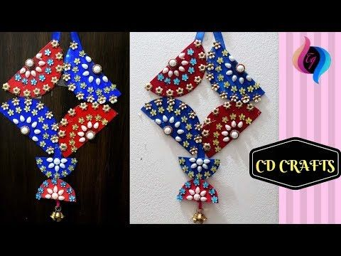 Cd Crafts Ideas Making Best Out Of Waste Ideas Wall Hanging With