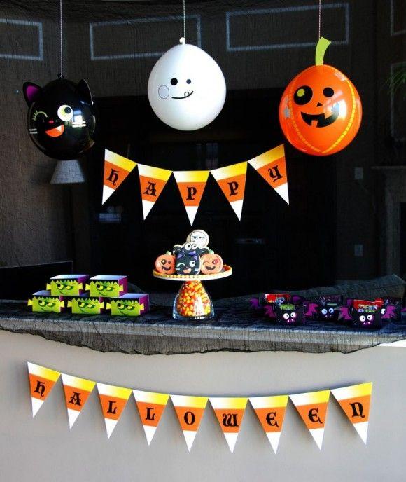 8 Last-Minute DIY Halloween Decorations Halloween Pinterest - halloween cute decorations
