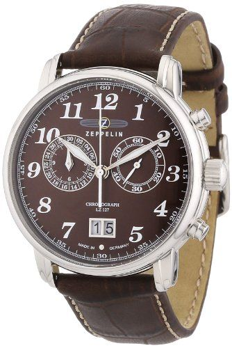 Zeppelin Herren-Armbanduhr XL LZ127 Graf Chronograph Quarz Leder 76843 Zeppelin http://www.amazon.de/dp/B000VRZPRK/ref=cm_sw_r_pi_dp_Mvntub0EQZZST