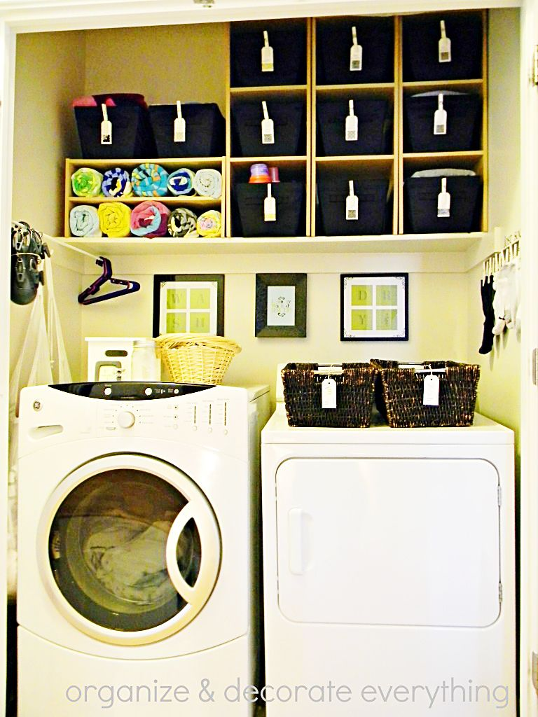 Organized Space Of The Week Laundry Closet Laundry Closet Bedroom Organization Closet Small Closet Organization Bedroom
