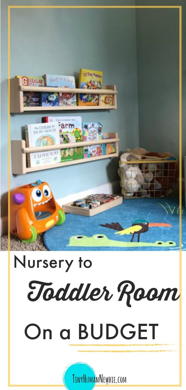 How to Go From Nursery to Toddler Room images