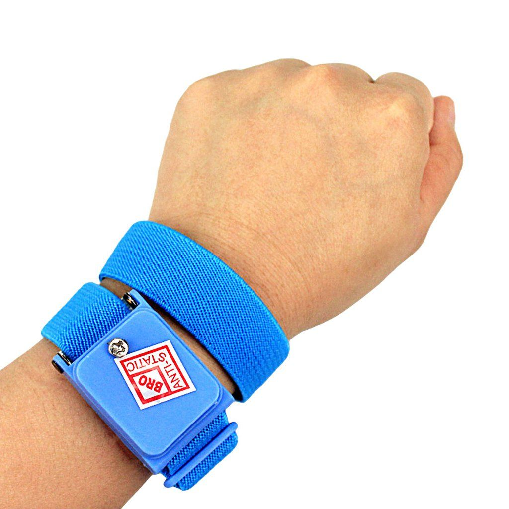 Anti static cordless wrist strap elastic band for
