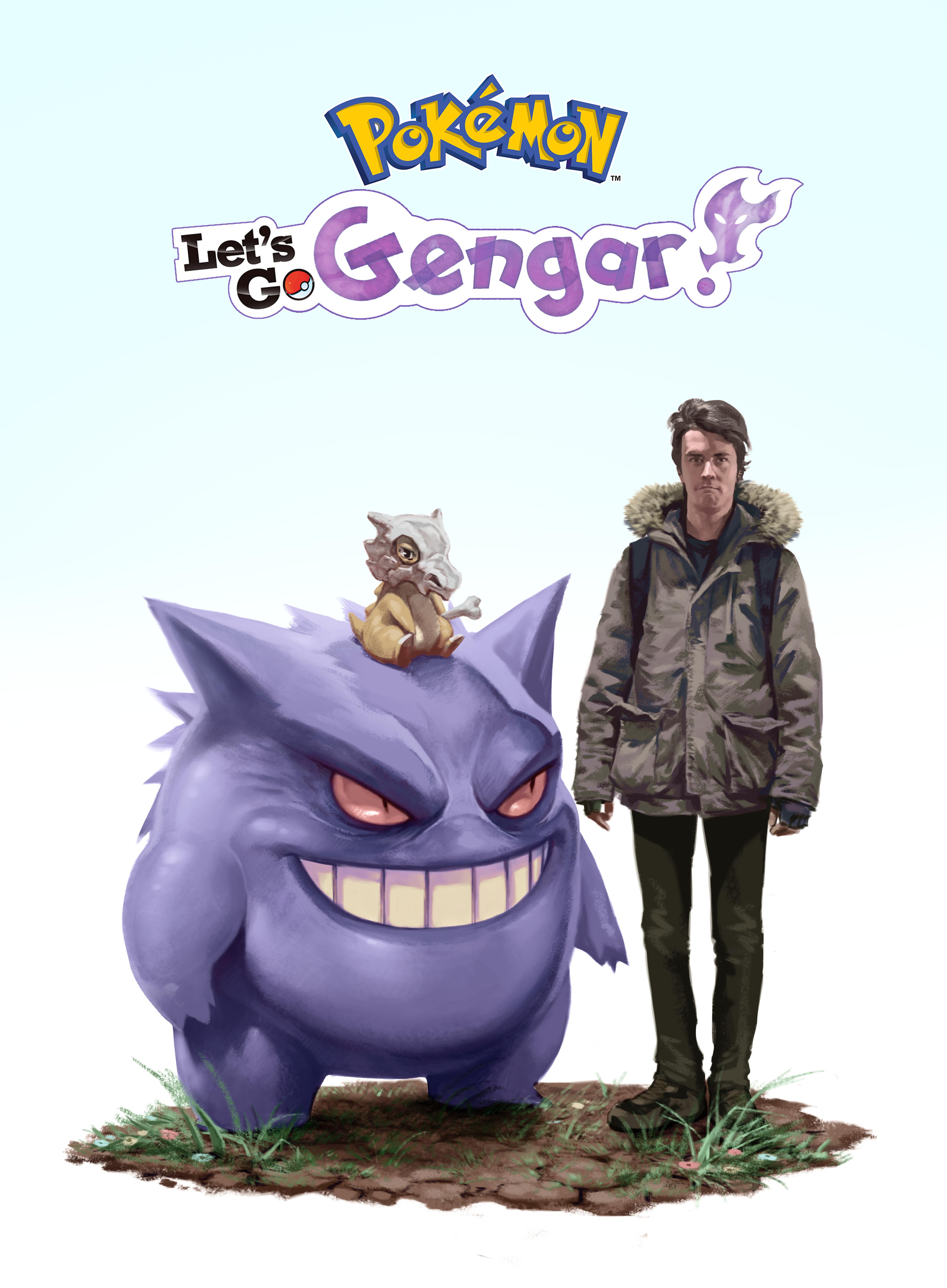 d8a3eb422 Art Commission] Pokémon: Let's Go Gengar! | Pokemon Go Moments ...
