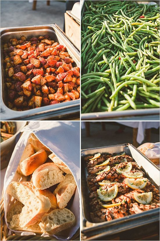 Image result for outdoor wedding menu ideas | Wedding: Food ...