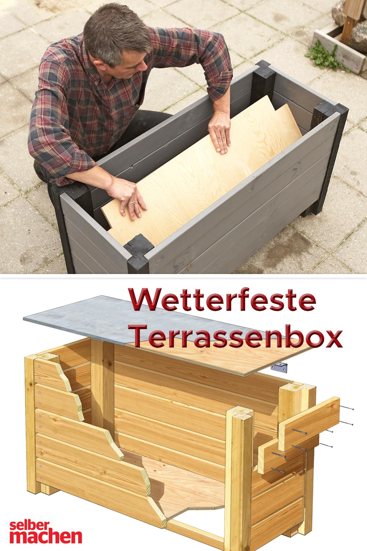 Mit Diesem Einem Trick Wird Deine Gartenbox Besonders Wetterfest Gartenbox Aufbewahrung Terrasse Aufbewahrungsbox Garten