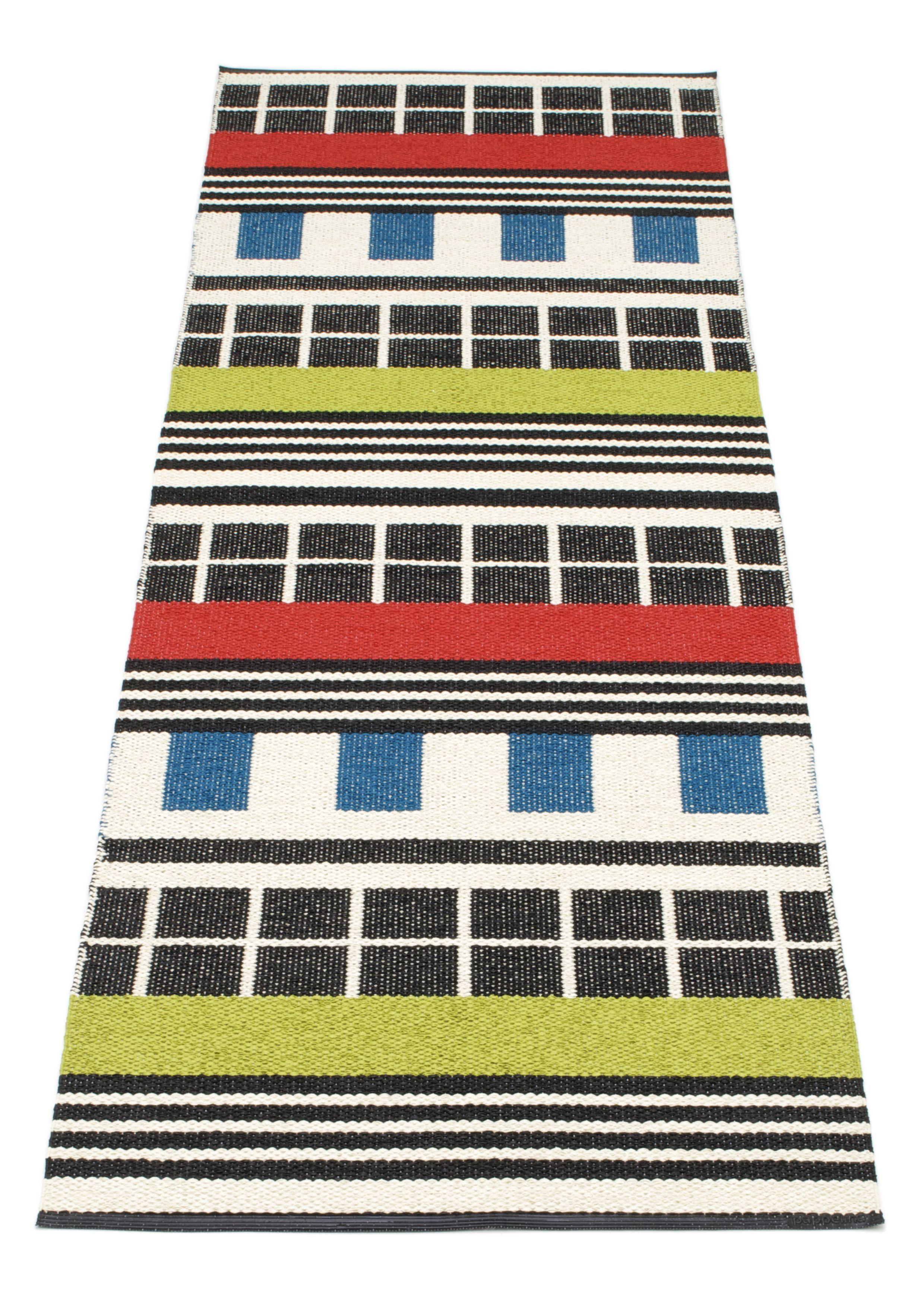 Pappelina- Plastic Rug: James Color