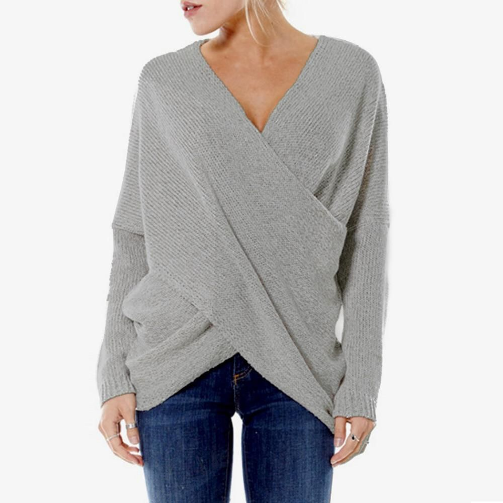 Kitta - Pullover Wrap Sweater – Fray