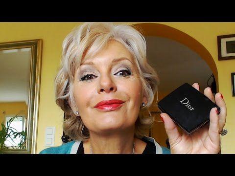 Maquillage anti-age avec la palette 2015 house greens de chez Dior - YouTube