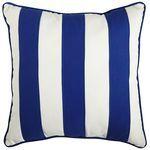 Cabana Stripe Pillow - Cobalt