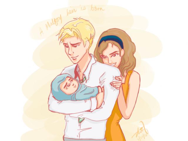 Dramione heir-daddy Draco always makes me swoon | Fan Art