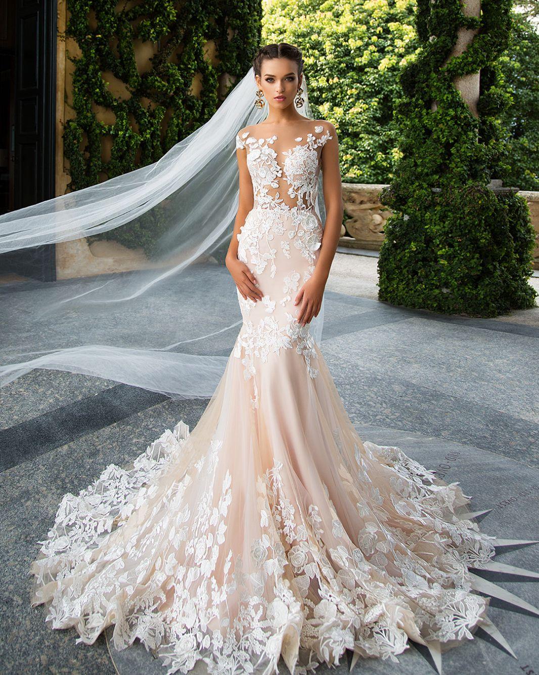 Betti - MillaNova   Weddings   Pinterest   Vestidos de novia, Novios ...