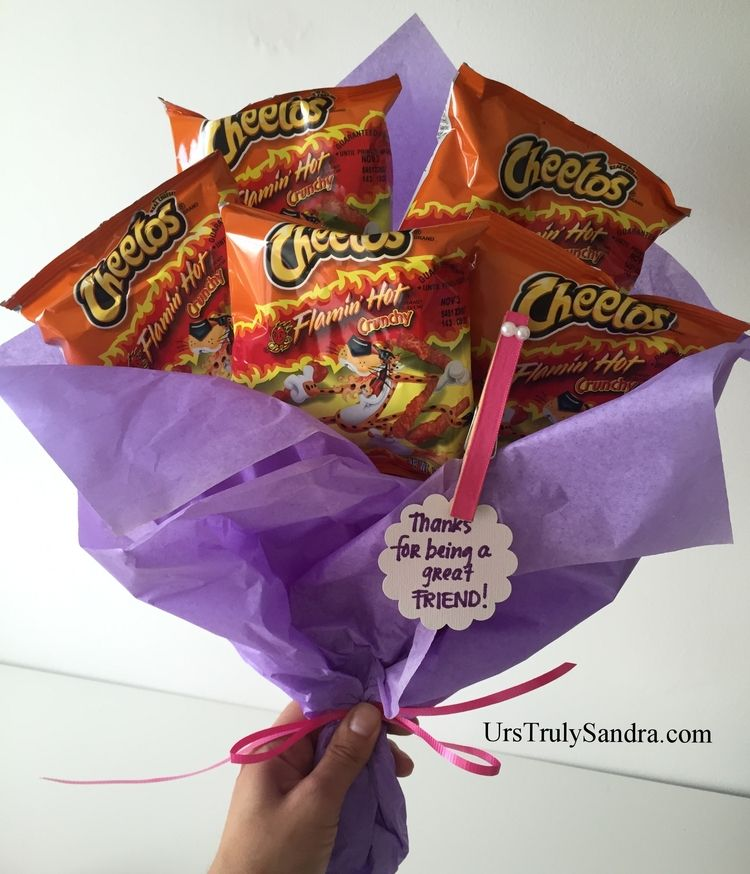 Diy Flaming Hot Cheetos Bouquet My Diy Projects Diy