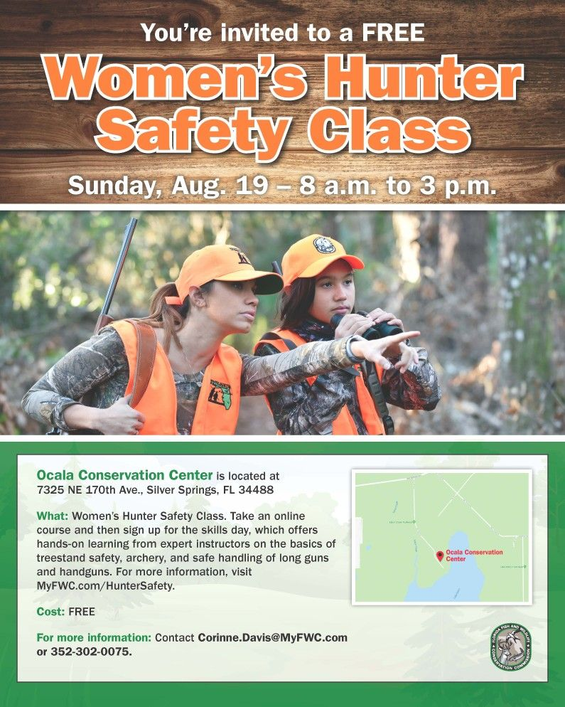 Florida Ladies Hunter Safety Courses Safety classes