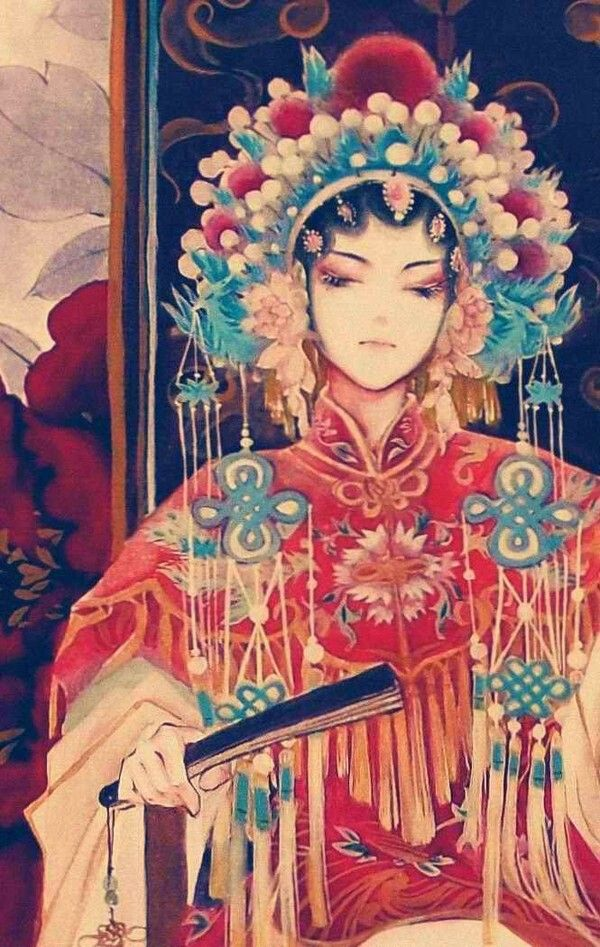 """Peking Opera.""""A story of the Forgotten Kingdom"""" If you visit on this site, you will hear some lovely singing."""