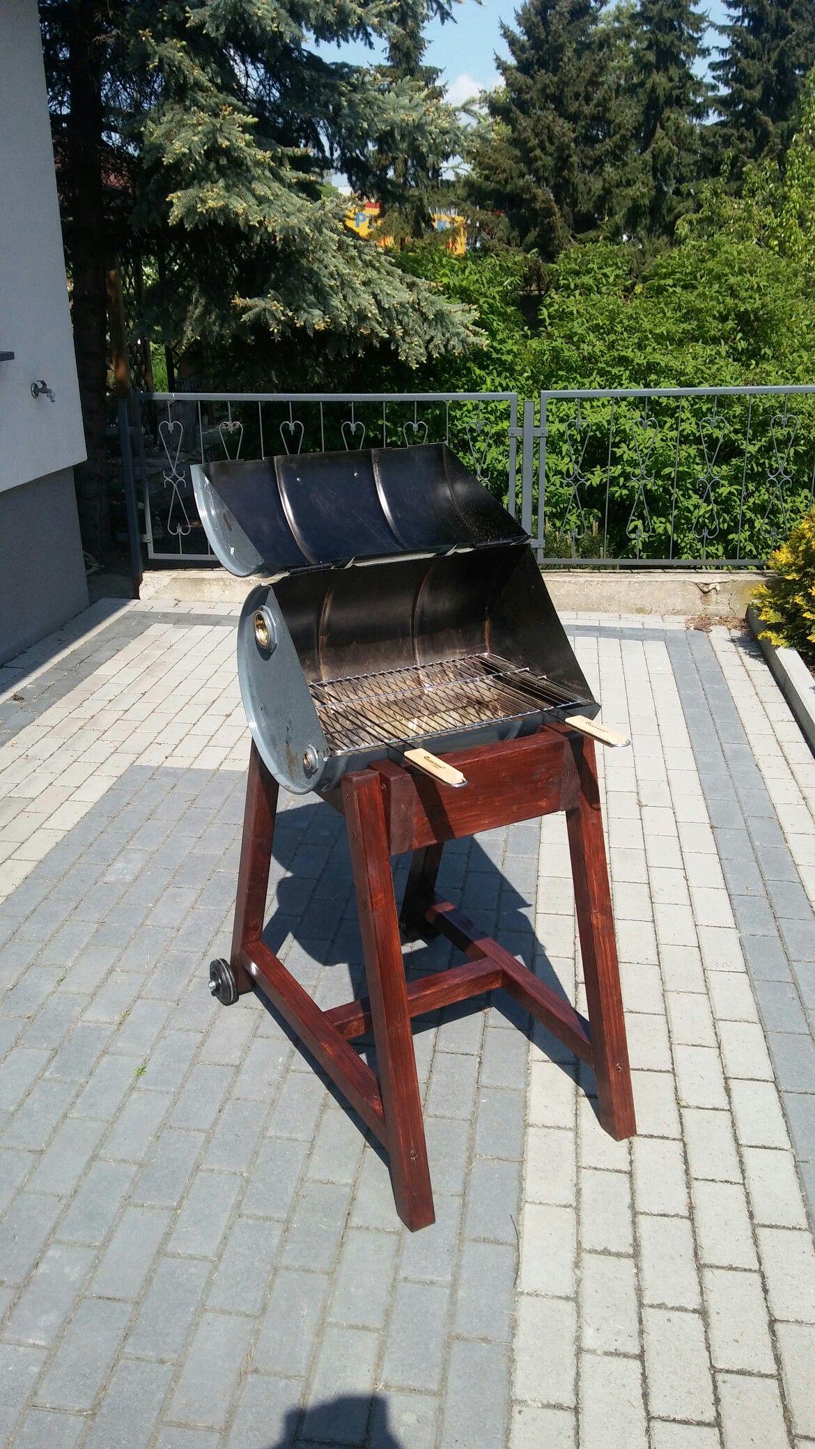 Grill Z Beczki Po Oleju