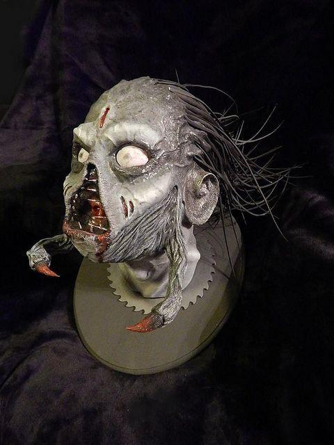Rovdyr - full size demon head sculpt