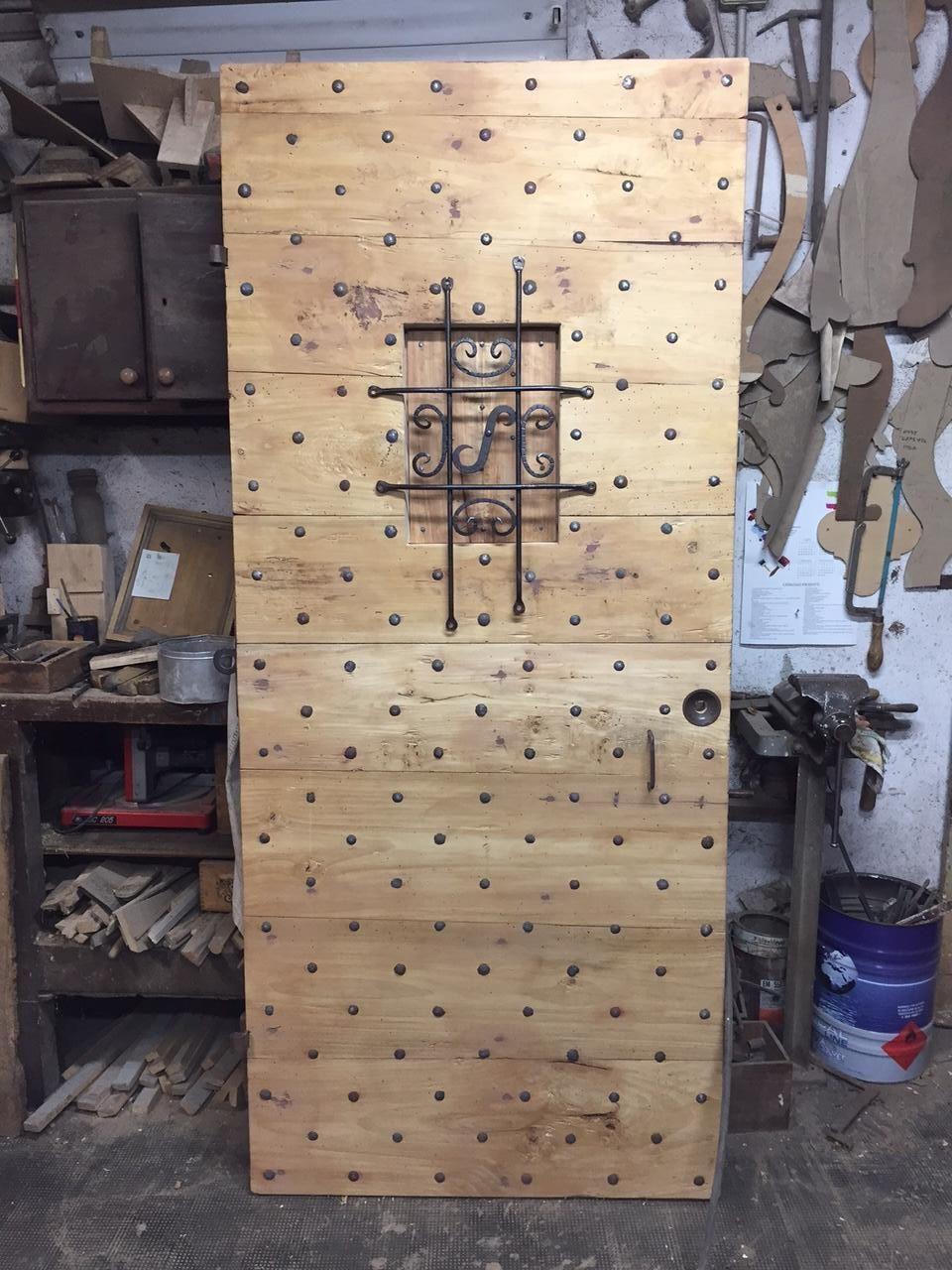 porta antica chiodata rustica riproduzione su misura antiques door portone legno | JPEGbay.com & porta antica chiodata rustica riproduzione su misura antiques door ...