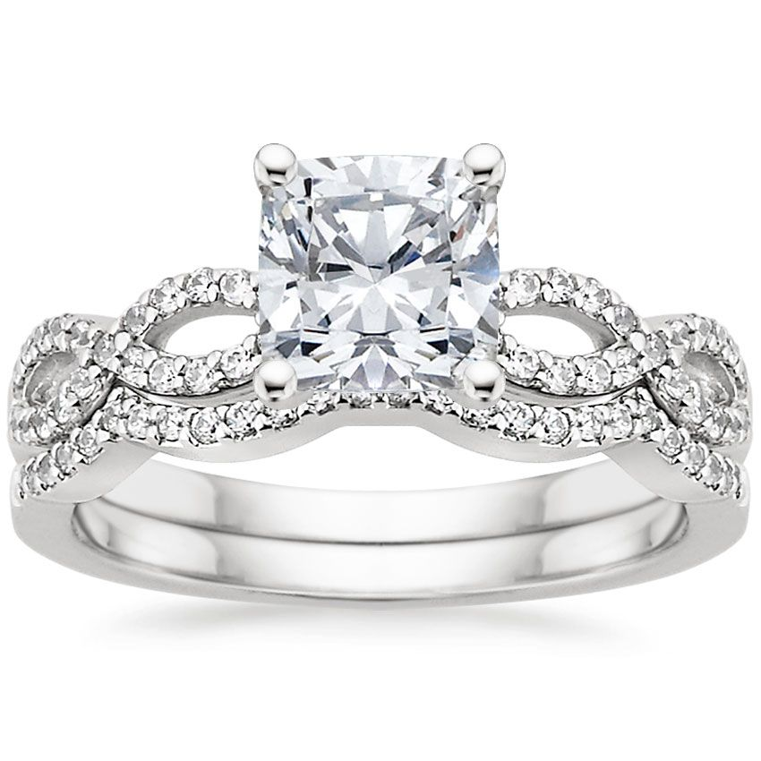 Platinum Infinity Diamond Ring From Brilliant Earth