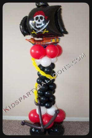Pirates Balloon Decorations
