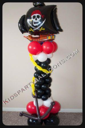 Pirates Balloon Decorations Pirates Party Balloons Houston TX