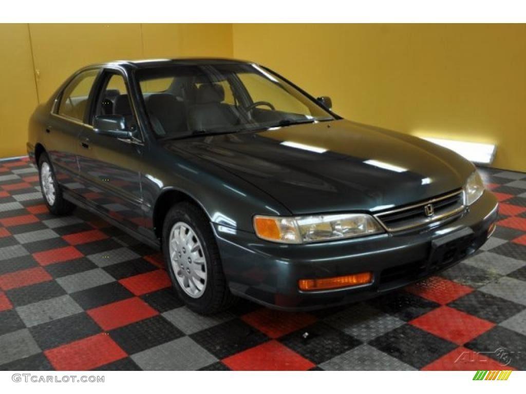 1996 Dark Eucalyptus Green Pearl Metallic Honda Accord Lx Sedan 46455928 Gtcarlot Com Car Color Galleries Honda Accord Honda Accord Ex Car