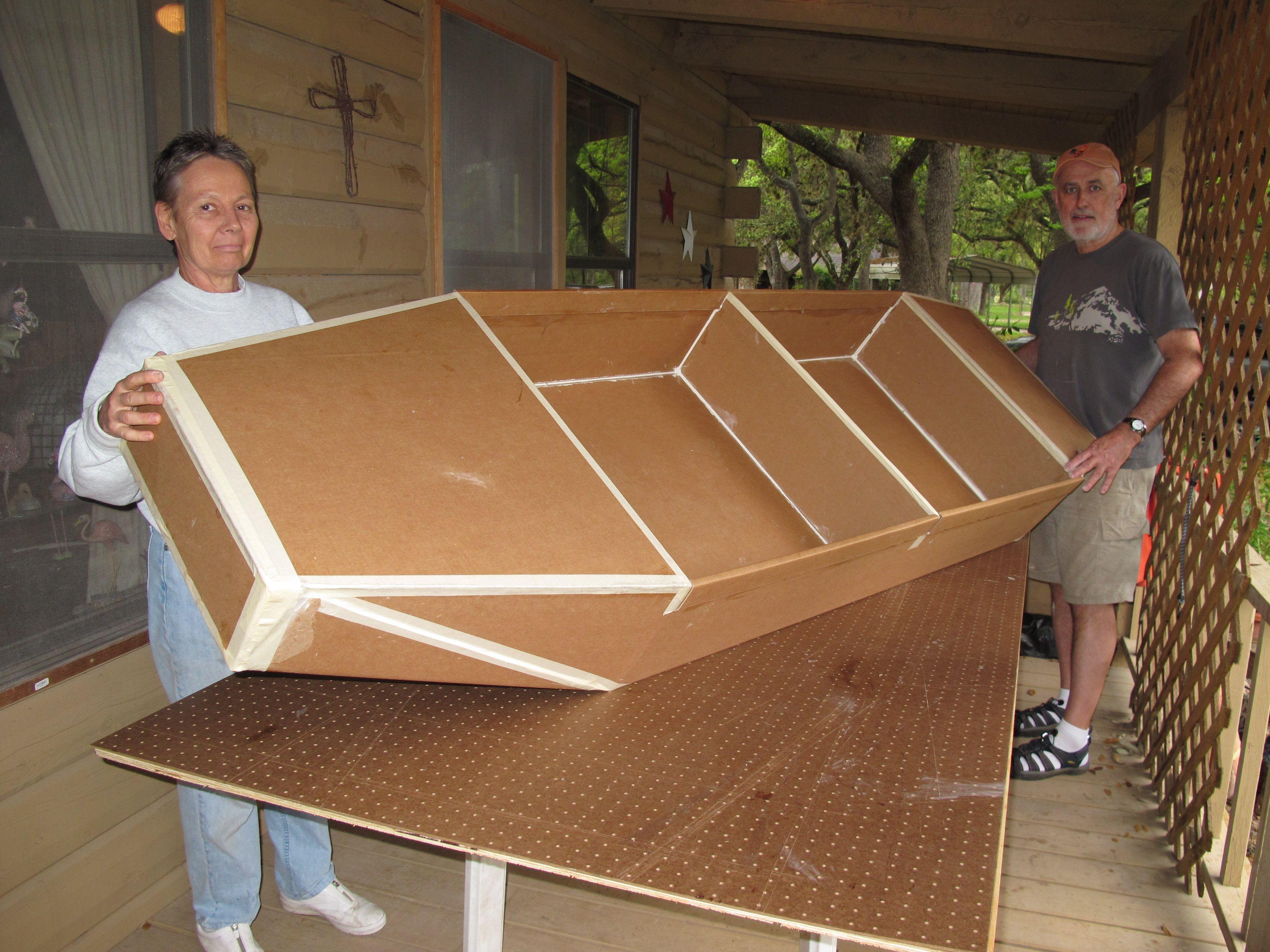 Cardboard Boat Building | Boating, Cardboard boat race and Craft