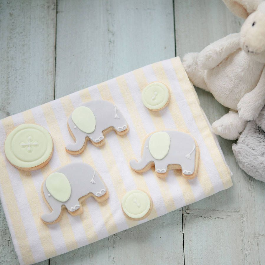new baby biscuit gift box by honeywell bakes | notonthehighstreet.com