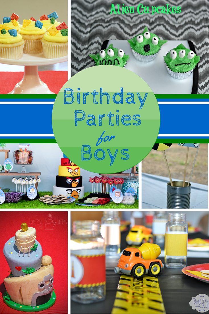 10 Great Birthday Party Themes For Boys Party Themes For Boys 20th Birthday Party Boy Birthday Parties