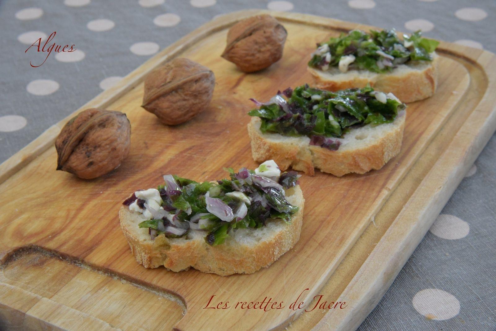 Tartare D Algues Et Noix Fraiches Les Recettes De Jacre En Toute Simplicite Noix Fraiches Recettes De Cuisine Algues