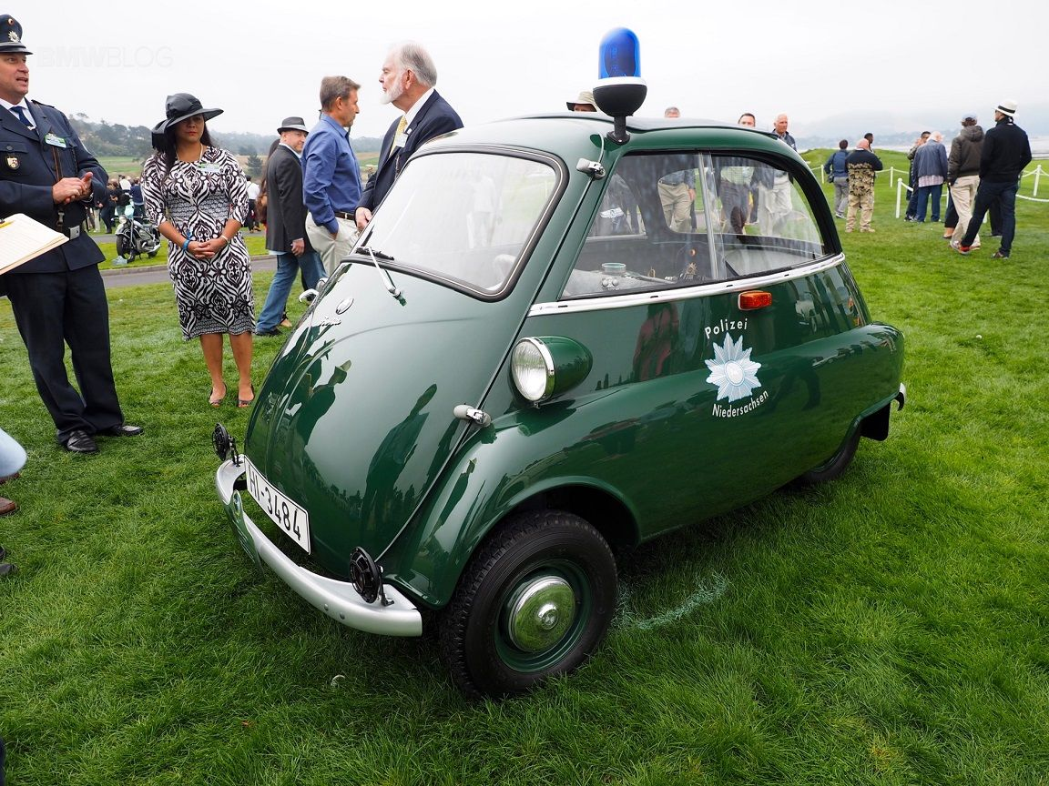 1955 1962 Bmw Isetta 300 Bundespolizei Republique Federale D Allemagne Police Cars Vehicles Police