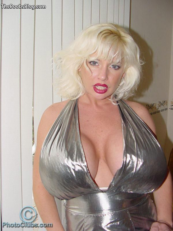 sarenna lee in silver dress – the boobs blog | tits | pinterest