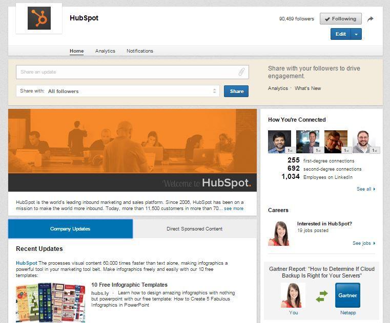 The Beginner S Guide To Linkedin Marketing Linkedin Tips Social Media Optimization Linkedin Marketing