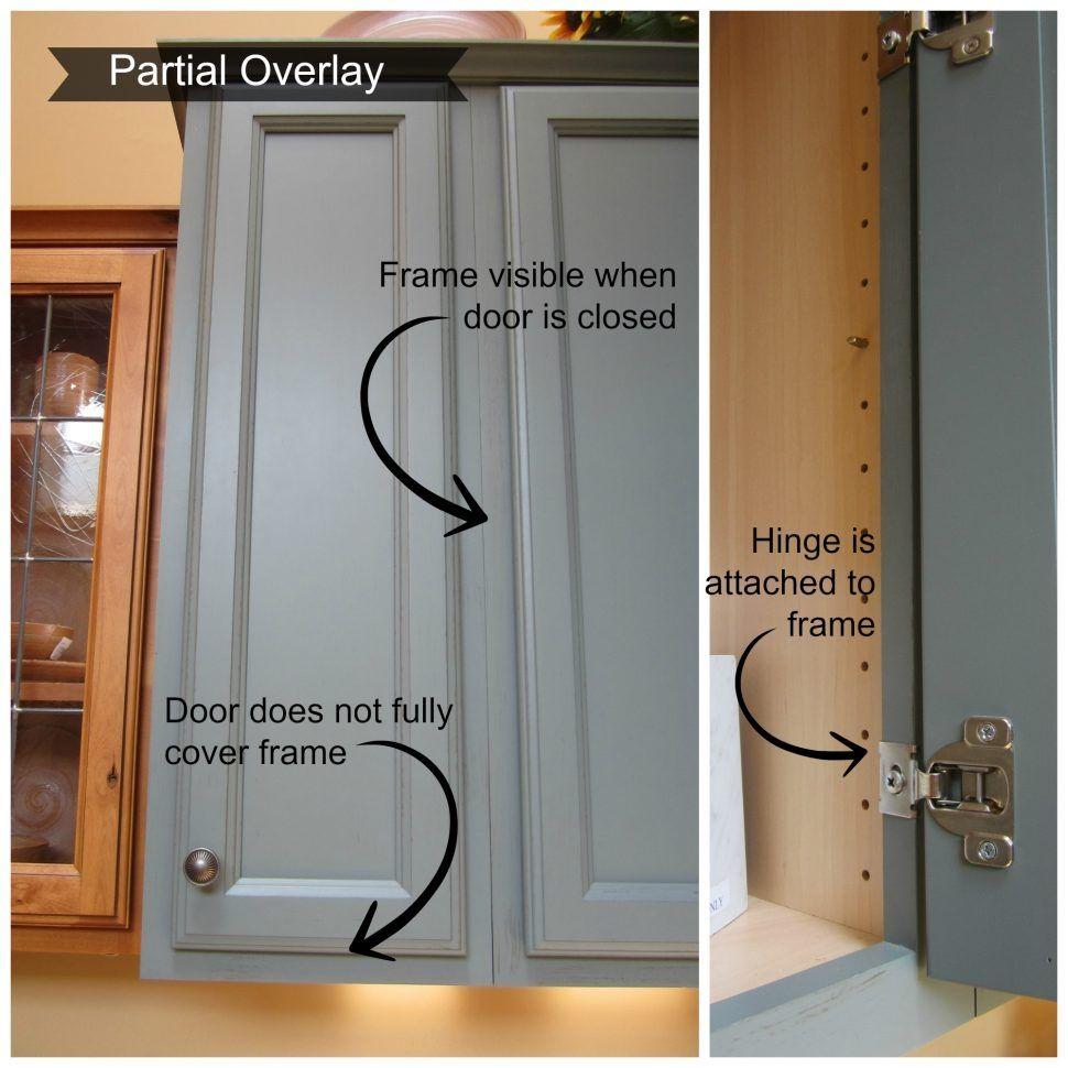 Partial Overlay Doors & Incredible Kitchen Island Cabinet ...