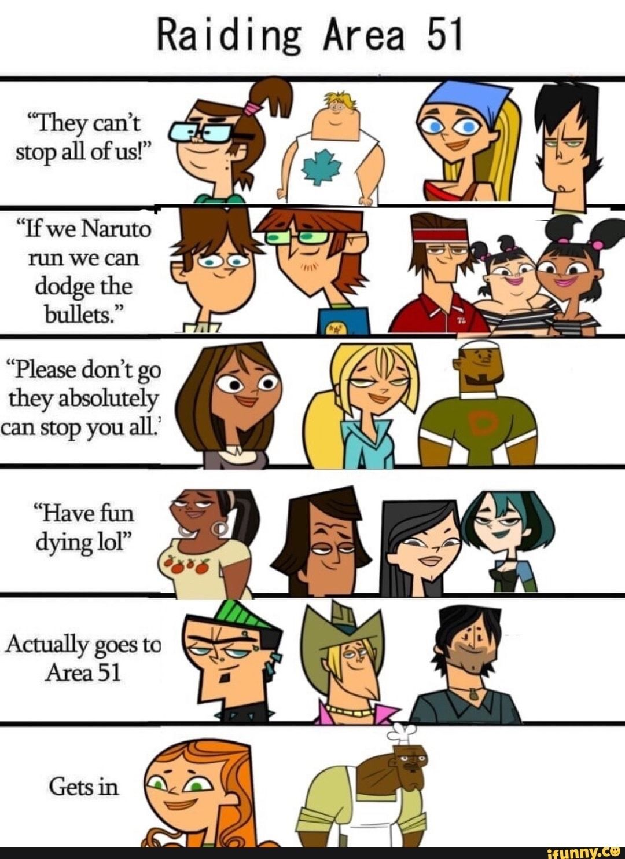Pin By Emma Kat On Total Drama Drama Memes Funny Naruto Memes