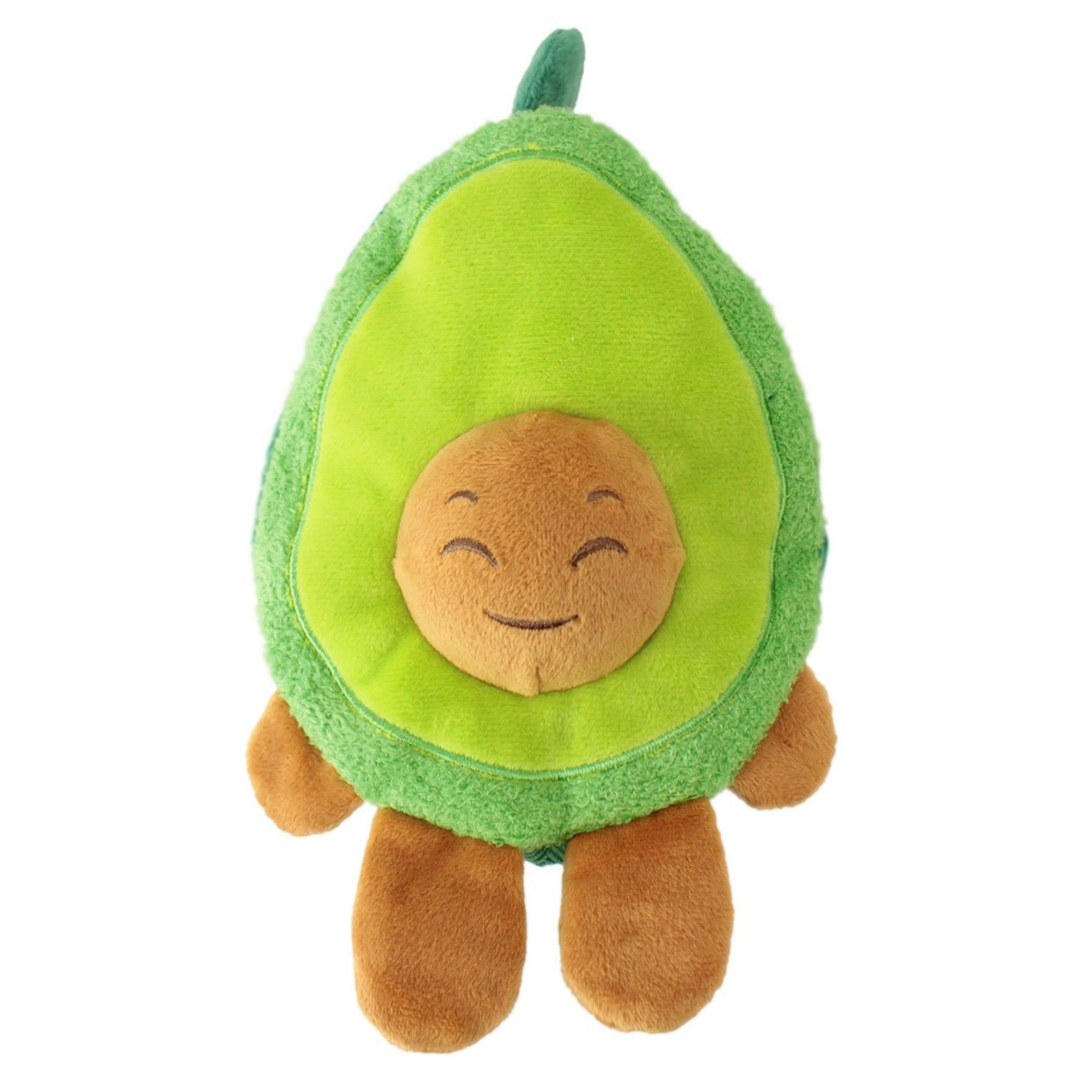 Boots Barkley Plush Avocado Dog Toy Provides Hours Of Squeaky
